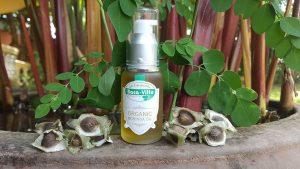 Organic Moringa Oleifera Oil.